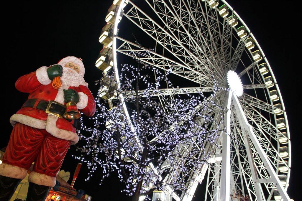 Adventní Londýn - Magic Winter Wonderland - obří pouť a vánoční trhy v Hyde Parku