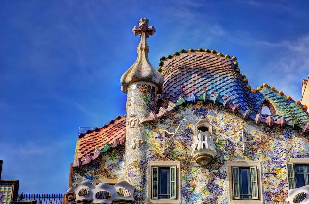 Španělsko - Barcelona - Casa Batllo (Gaudí)