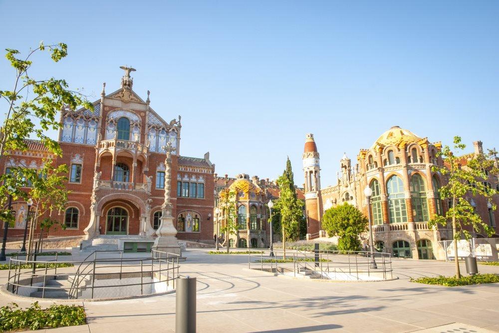 Španělsko - Barcelona - Hospital de la Santa Creu i Sant Pau