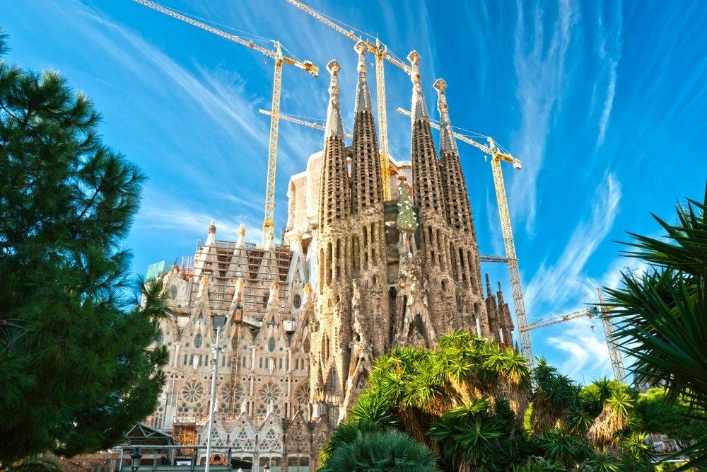 Španělsko - Barcelona - La Sagrada Familia