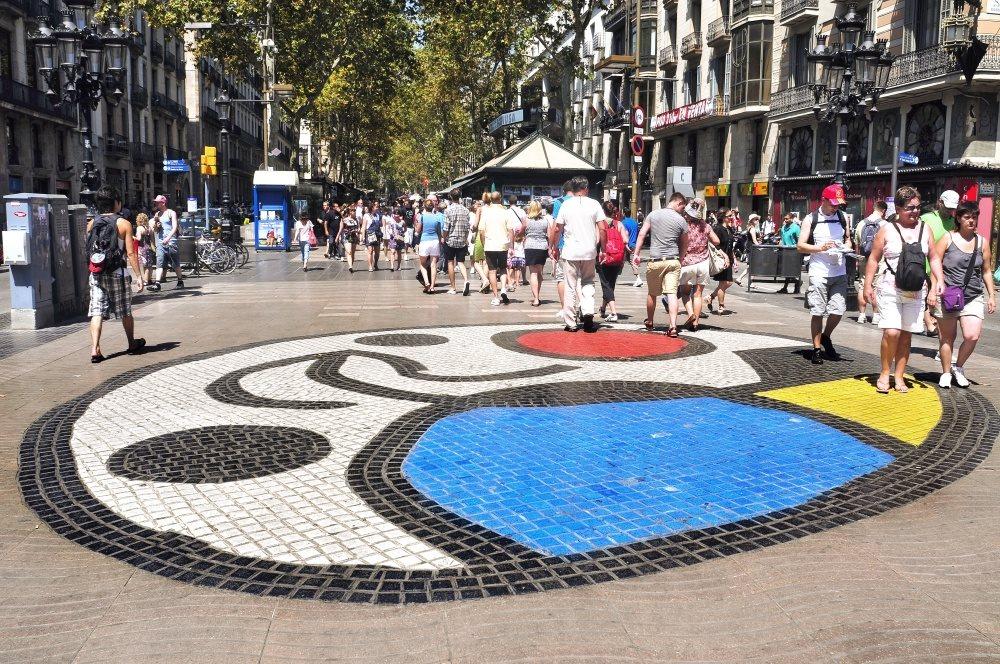 Španělsko - Barcelona - Las Ramblas