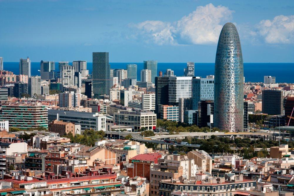 Španělsko - Barcelona - panorama města