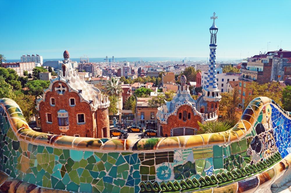 Španělsko - Barcelona - Parc G&#252