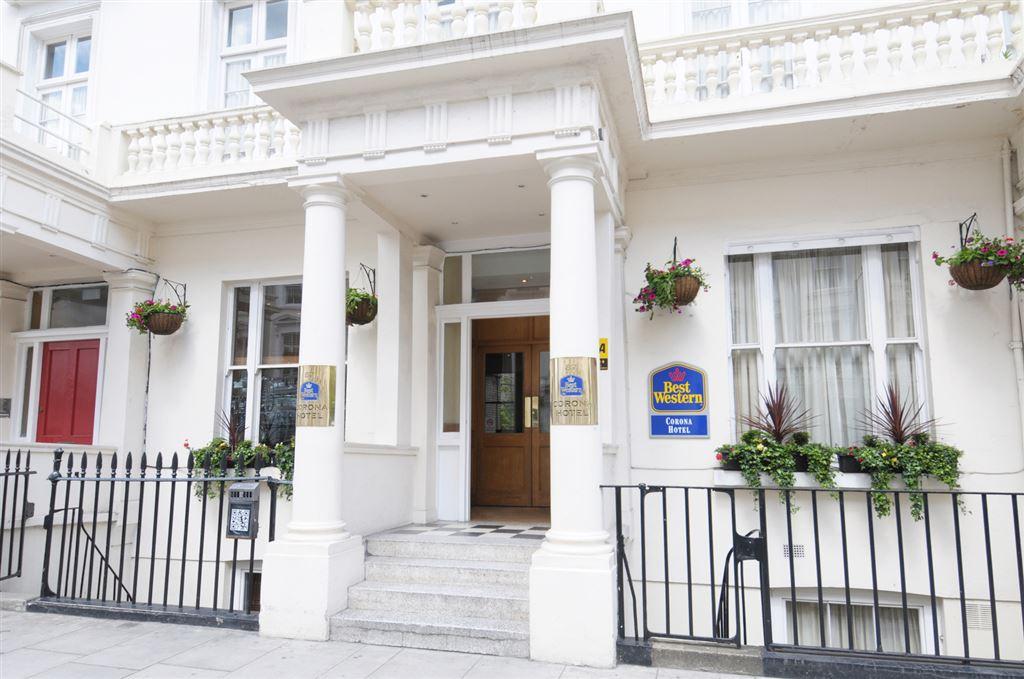 Letecký Londýn - Best Western Corona Hotel