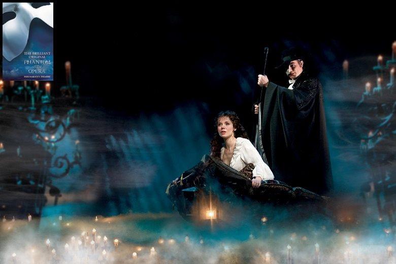 Muzikálový Londýn - The Phantom of the Opera (Her Majesty&#180