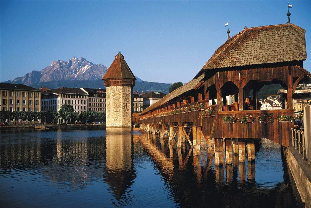 Švýcarsko - Lucern - Kapellbr&#252