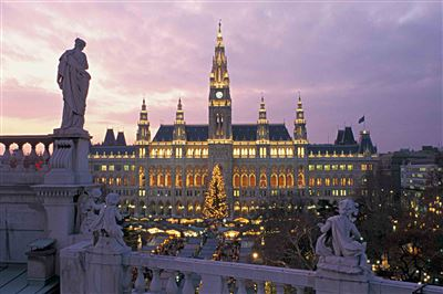 Advent - Vídeň - Christkindlmarkt - Rathaus